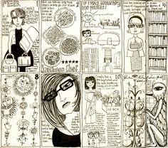 Teesha Moore's drawing a day