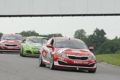 Mark Wilkins in the No. 38 Infinity Audio Optima captures his first victory as Kia Racing driver at round nine of the Pirelli World Challenge at Canadian Tire Motorsports Park.