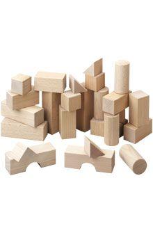 Haba 1071 Building Blocks Basic Blocks Basispakket - 26 delig