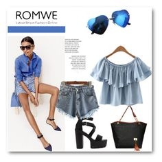 """ROMWE"" by duso21varljiva ❤ liked on Polyvore featuring J.Crew"