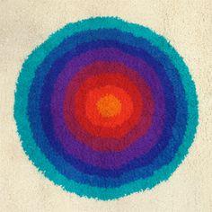 Verner Panton 'Spectrum' rug
