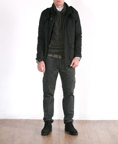 Camisa Popelin E. Fino 15,99€* / Punto Magpie 17,99€* / Chaqueton Bolsi 37,99€* / Pantalón Gabard.Media 21,99€* // *p.v.p. final #moda #fashion #look