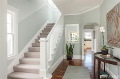1926 stair case. 239 Magellan Ave, San Francisco, CA 94116 (MLS #424229) #FoundOnRedfin