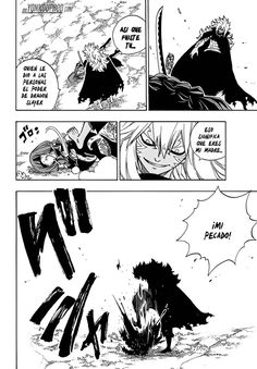 Acnologia patea el cadaver de Irene Belserion - Fairy Tail Manga 524