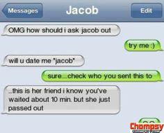 Crazy online dating beskeder
