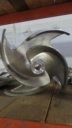 #Goulds pump model #3175 Impeller , size 14″