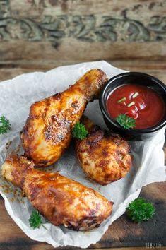 Pollo alla diavola Pollo Tandoori, Tandoori Chicken, Italian Dishes, Italian Recipes, Pollo Chicken, Macro Meals, Cooking Recipes, Healthy Recipes, Slow Food