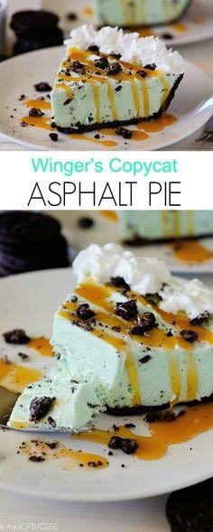 Asphalt Pie (Winger's Copycat)