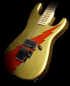 Charvel Custom Shop 2015 NAMM Showpiece San Dimas Electric Guitar Aged Lightning