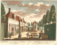 Driemonds gesigt langs de Stallinge, naa t' Speelhuis. Het Zegenpralent Kenenmerlant, vertoont in 100 Heerelyke gezichten. Mattaeus Brouerius van Nidek, , Henrik de Leth.