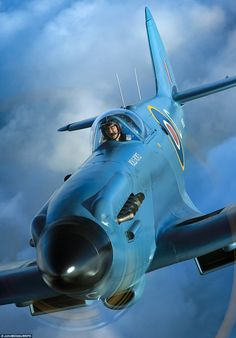 Intense: Rolls Royce's own Spitfire PS853 - an unarmed, high-altitude photo…