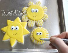 Summer Fun: Sunshine Cookies (Tutorial)