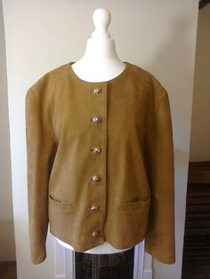 Sardar Of London Retro Vintage 1990s Tan Nubuck by MollyTops