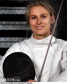 Britta Heidemann - Fencing - Beijing Olympics 2008 - Womens Epee