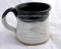 Deer Footprints in the Snow Coffee Mug