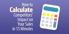 The price index can help your business determine who its competitors are and how other prices affect your sales. Here's how you can determine your competitors in fifteen minutes. Retail Technology, Calculator, Company Logo