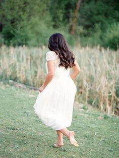 Amethyst Inspired Outdoor Wedding Ideas | Wedding Sparrow | Christie Graham Photography
