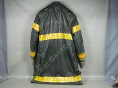 Vtg Chicago Fire Department Midwestern Winter Firefighter Bunker Turnout Jacket in | eBay