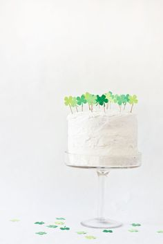 DIY Clover Patch Cak