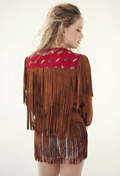 Stonefree Fringed Jacket - Shoplovestoned