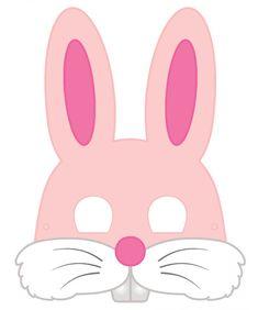 masque de lapin rose pdf