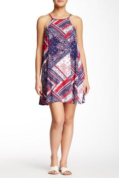 Printed Trapeze Dress by BE BOP on @nordstrom_rack