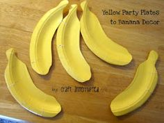 Banana Hunt - Monkey Party game
