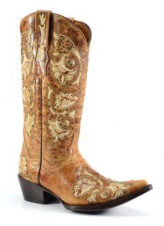 "Corky's ""Santa Fe"" Women's Western Boot"