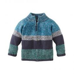 Tea Collection Splash Eastern Marled Zip-Up Sweater - Infant, Toddler & Boys Newborn Boy Clothes, Newborn Outfits, Baby Boy Newborn, Baby Boy Outfits, Kids Outfits, Baby Boy Knitting Patterns, Knitting For Kids, Baby Knitting, Knit Baby Sweaters