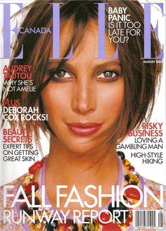 Elle Canada August 2002, Christy Turlington
