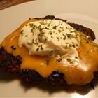 """Tex-Mex Patty Melts    By: Ms. Martin     """"I saw similar burgers made on television for a sports event. I didn't have buns, so I made patty melts instead. I will never make this in plain burger form again!"""""""