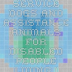 Service dogs and assistance animals for people with disabilities in housing and HUD-funded properties [PDF]  portal.hud.gov
