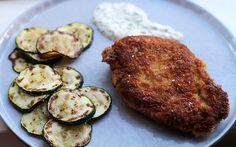 Culy Homemade: superkrokante kipschnitzel met gegrilde courgette