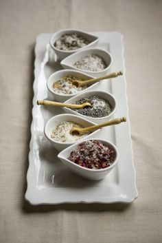 Variety of Flavored Salt..