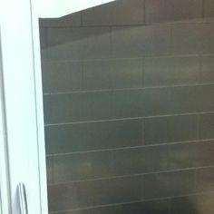 Metal peel and stick tiles for backsplash!