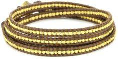 Chan Luu Gold Vermeil Bead Brown Leather Wrap Bracelet Chan Luu, http://www.amazon.com/dp/B004WMB22W/ref=cm_sw_r_pi_dp_J9wdqb1JGN975