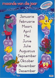 Classroom Labels, Classroom Resources, Afrikaans Language, Mental Maths Worksheets, Phonics Song, Handwritting, Alphabet For Kids, Toys Online, Preschool Learning