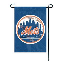 New York Mets MLB Mini Garden or Window Flag (15x10.5)