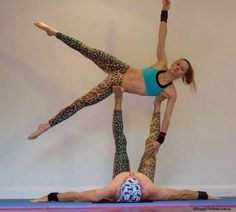 Acro Yoga Poses for Beginners - Bing Images