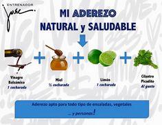 Aderezo ensaladas por Entrenador José Fernández