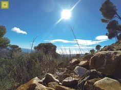 Etapa 33 a la altura de Mijas http://www.medplaya.com/blog/the-great-trail-of-malaga/#.Uyr10IUR9nM