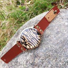 Wow~ Awesome Retro Sexy Leopard Rhinestone Leather Watch! It only $28.9 at…
