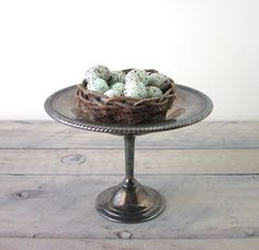 Vintage Silver Plate Compote by 22BayRoad on Etsy, $16.00