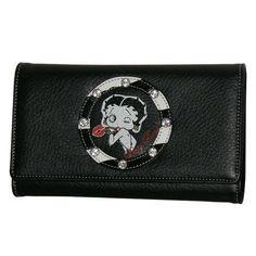 bdd99550fc5 Betty Boop Black Zebra Wallet V605-AZ-BQ1010 Betty Boop