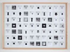Hans-Peter Feldmann All the clothes of a woman 70 black and white photographs mounted on board
