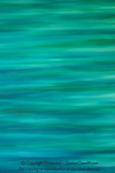 #teal decor - Teal & #turquoise acrylic painting on canvas, original abstract artwork by Denise Cunniff - ArtFromDenise.com
