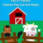 My daughter loves these! Cut-out masks for children to use when studying farms and farm animals. Great for dramas and creative play! Lots of fun! Could also be used for dec...