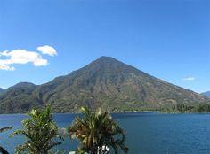 Volcán Atitlán, Sololá, Guatemala. #Guatemala