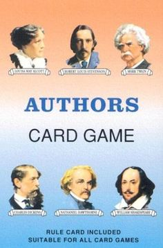 Authors Card Game: Inc. U S. Games Systems: 9780880791601: Amazon.com: Books