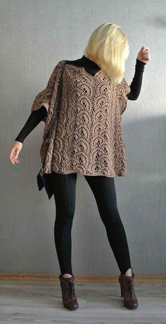 Crochet Poncho Tutorial | Beautiful Crochet Stuff